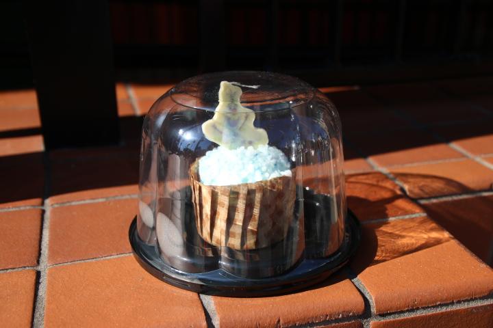 ハリウッドスタジオ オラフカップケーキ3