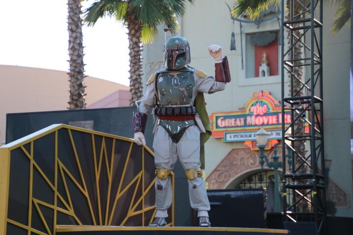 ハリウッドスタジオ スターウォーズ ショー15