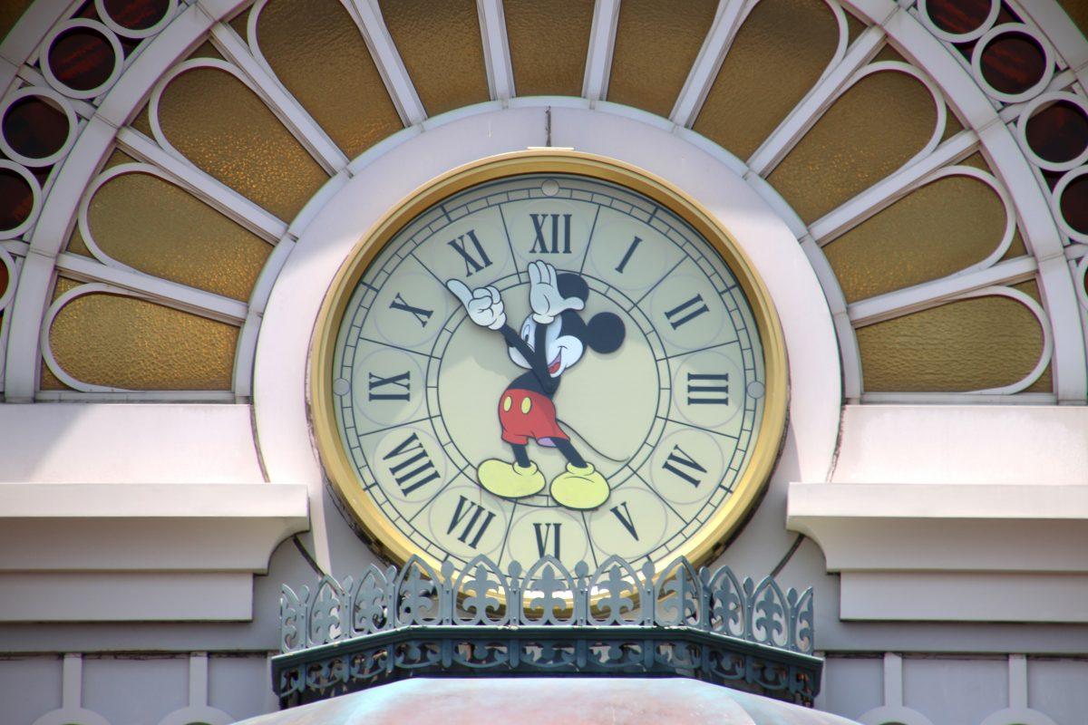 reputable site 5f6c5 47d1a ディズニーリゾートライン『ミッキー時計モチーフ オリジナル ...