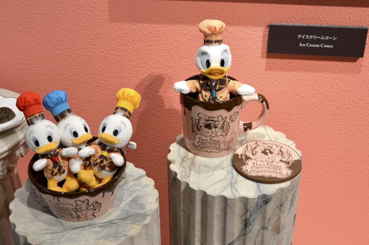 Duck FAMILY CHOCOLATE COMPETITION ぬいぐるみバッジ