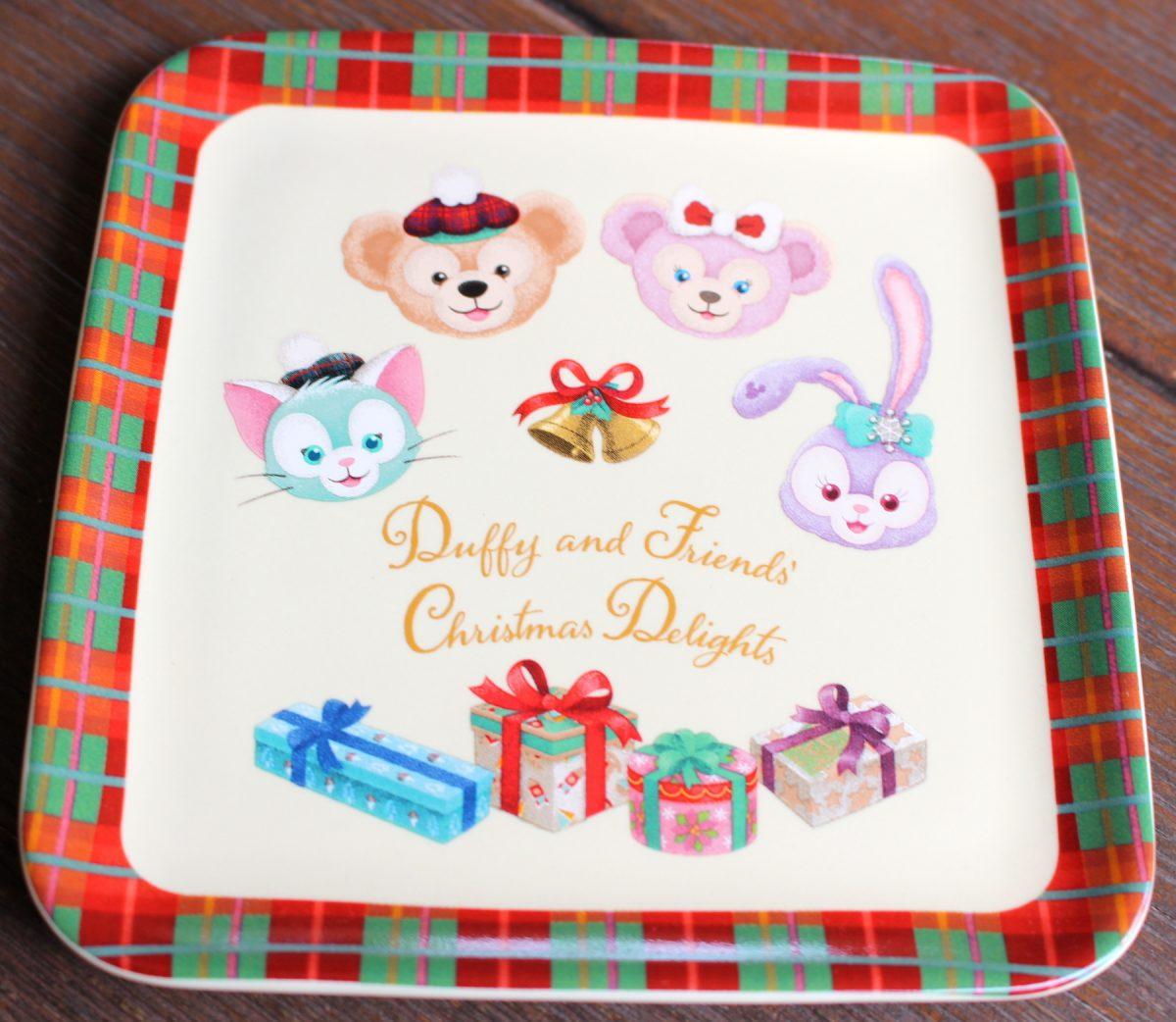 ダッフィー クリスマス 2018 ストロベリームースケーキ、スーベニアプレート