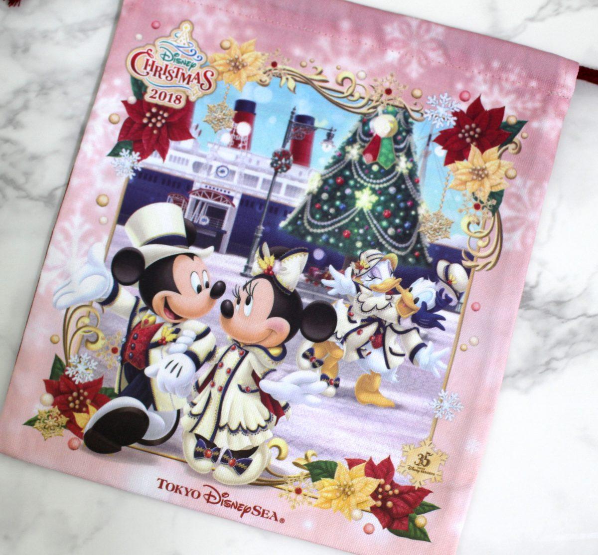 東京ディズニーシー ディズニー・クリスマス 巾着