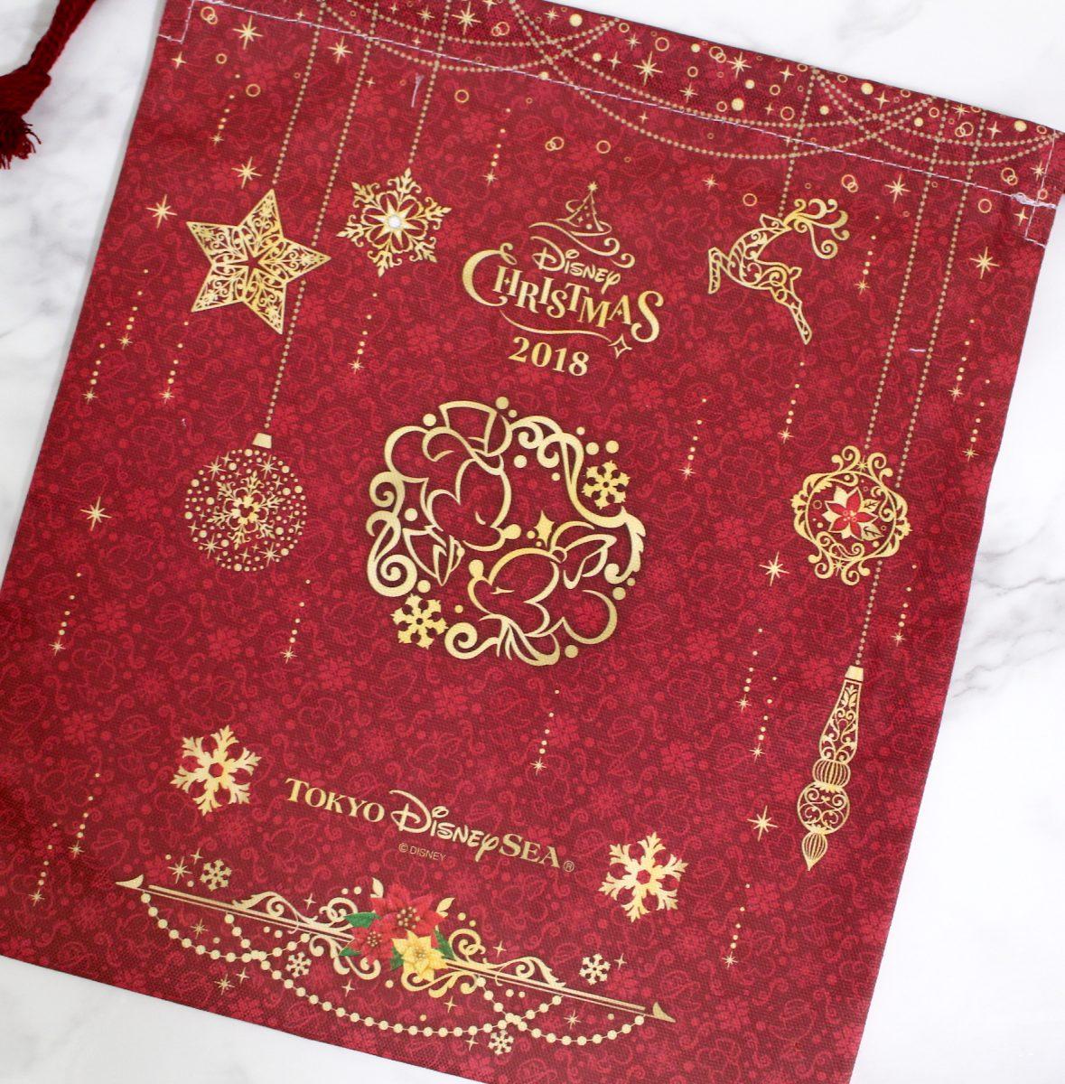 東京ディズニーシー ディズニー・クリスマス 巾着 裏