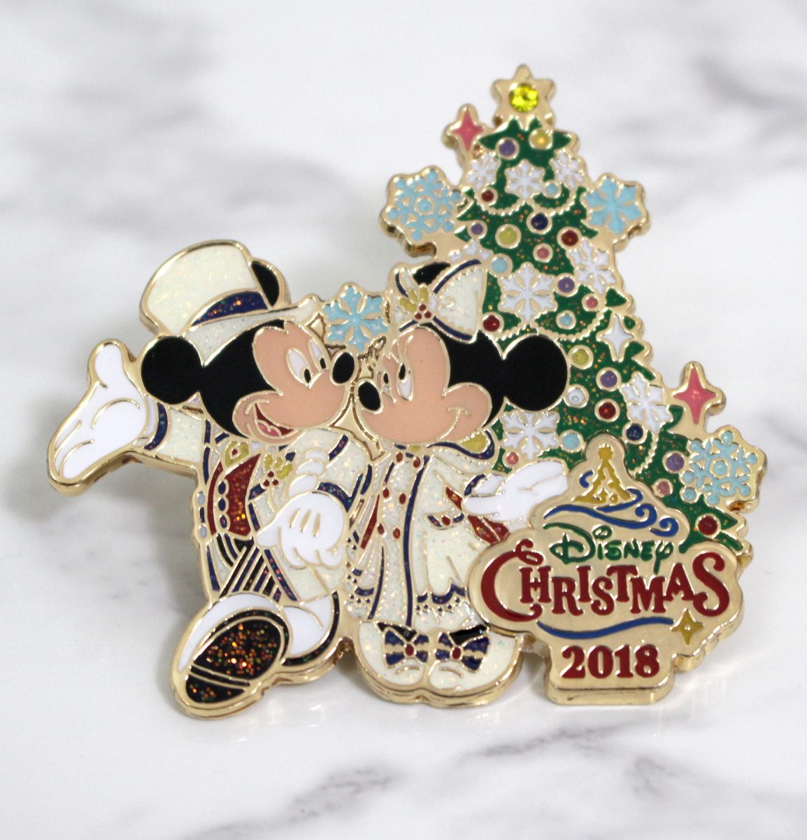 東京ディズニーシー ディズニー・クリスマス ピンバッジ
