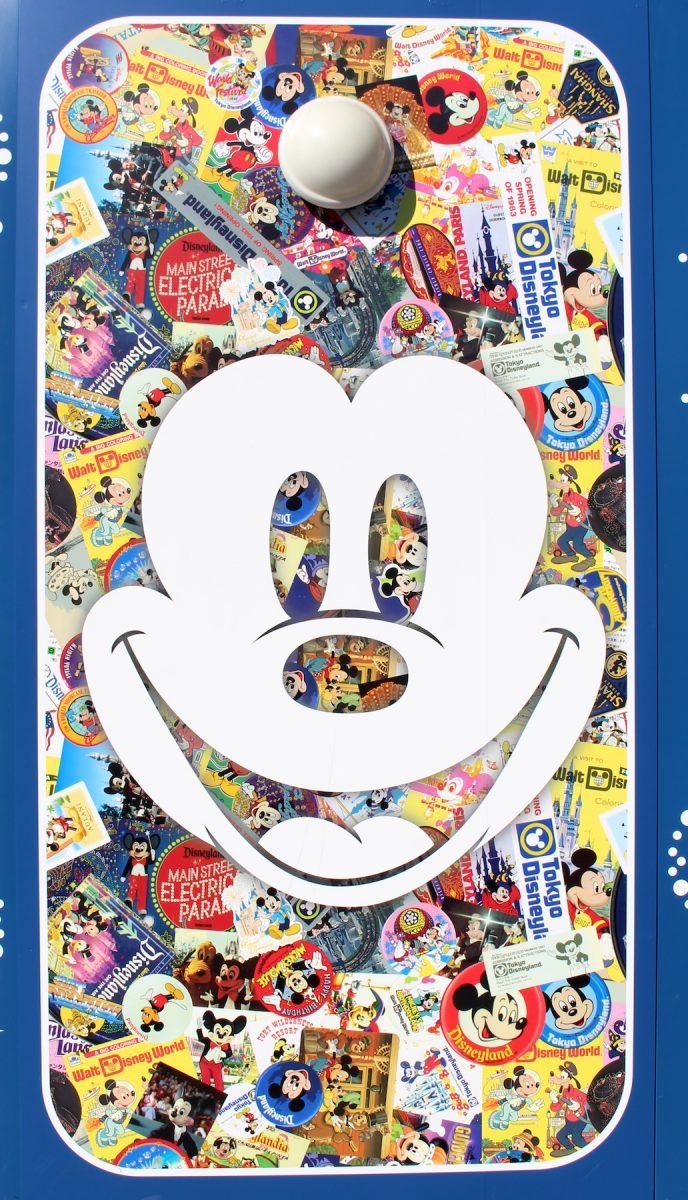 東京ディズニーランド ミッキー90周年装飾 壁5