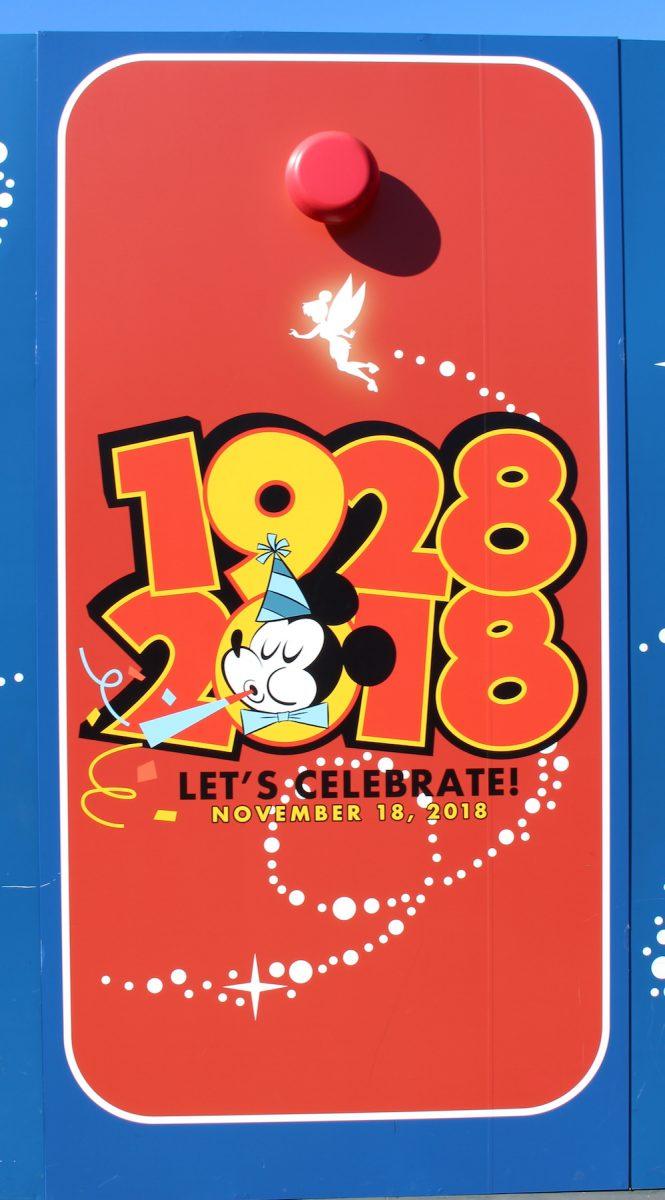 東京ディズニーランド ミッキー90周年装飾 壁7