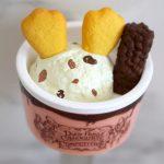 東京ディズニーランド アイスクリームコーン チョコナッツバニラアイス&チョコレートクランチ スーベニアスプーン アップ
